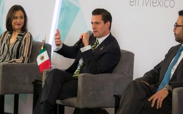 "Peña Nieto pide a Cofece e IFT no ""espantarse"" si no les aplauden - Pea Nieto felicita a la Cofece e IFT por su labor en materia de competencia económica. Foto de Presidencia de México"