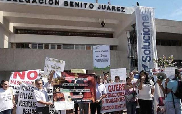 Suspenden trámites para permisos de construcción en la Ciudad de México - Foto de Twitter