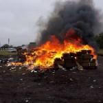 Destruyen más de dos toneladas de narcóticos en Tamaulipas - Tamaulipas
