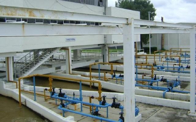 Encienden las bombas del Sistema Cutzamala - Planta Potabilizadora Los Berros. Foto de SIAPSagua
