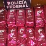 Policía Federal incauta crystal dentro de bolsas de café en el AICM - Pretendieron traficar crystal en bolsas de café. Foto de Quadratín