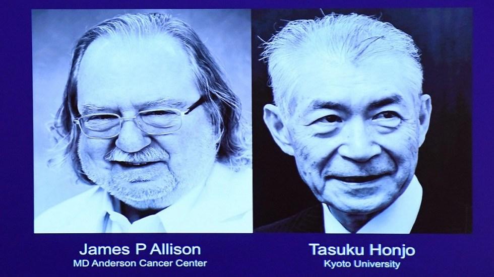 Dan Nobel de Medicina a investigadores de terapias contra el cáncer - James P. Allison y Tasuku Honjo, ganadores del Nobel de Medicina 2018. Foto de Internet