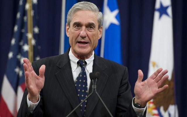 FBI investiga intento de difamar a integrante de la investigación sobre la trama rusa - Fiscal Robert Mueller. Foto de AFP