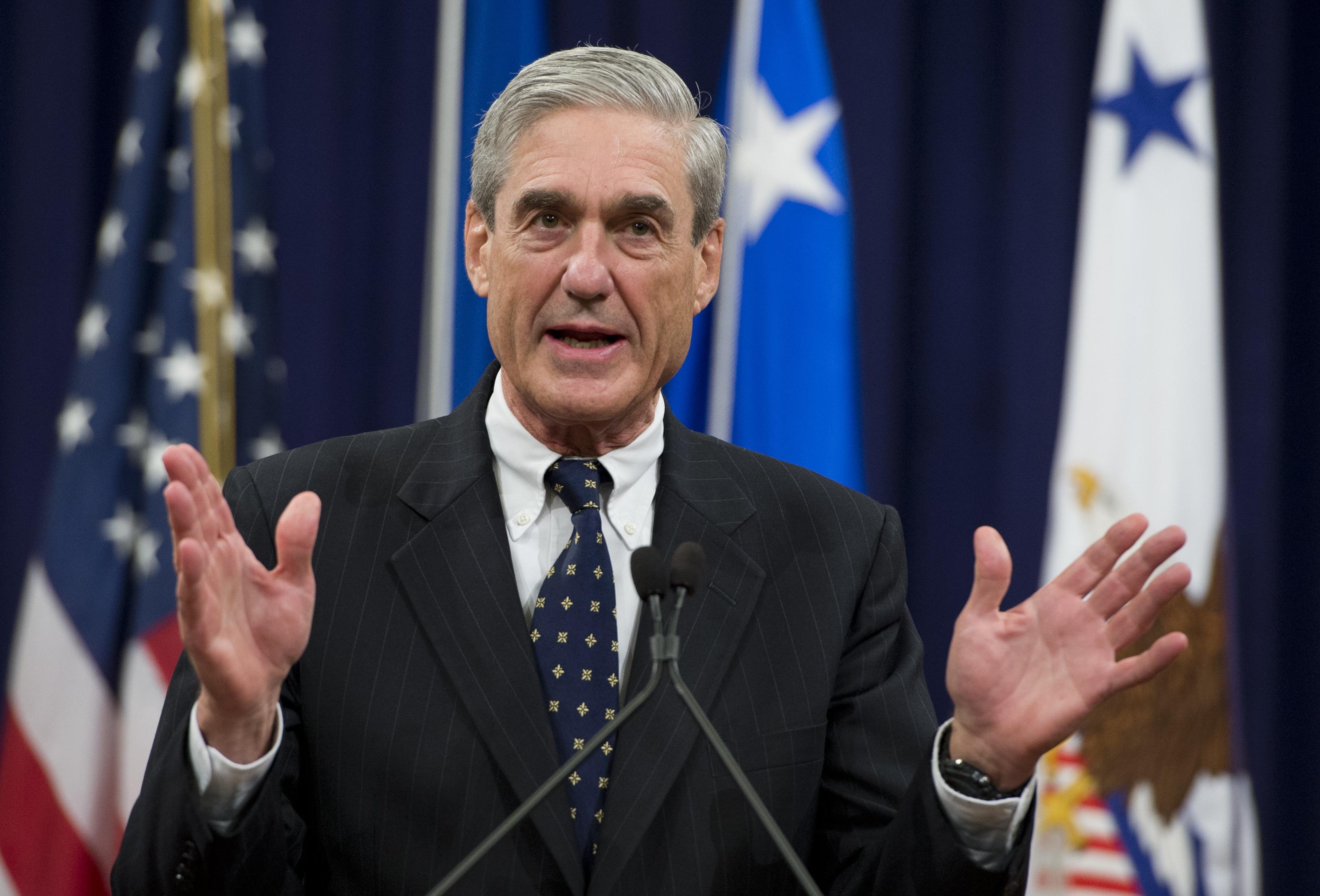 Fiscal Robert Mueller. Foto de AFP