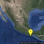 Sismo de magnitud 5.8 sacude Oaxaca