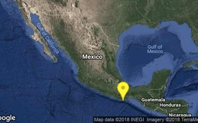 Sismo magnitud 4.2 sacude Oaxaca - Oaxaca