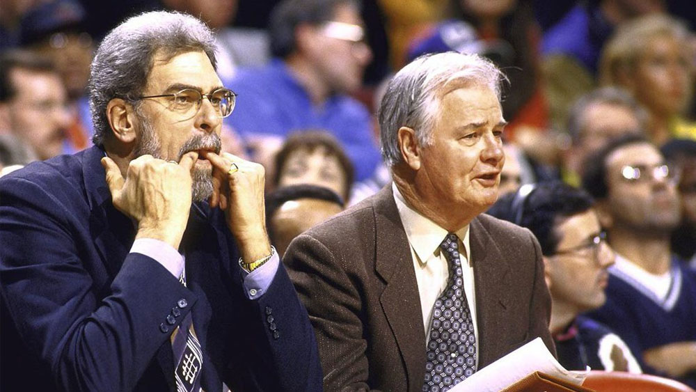 Fallece Tex Winter, innovador entrenador de basquetbol