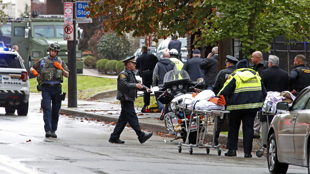 tiroteo sinagoga Pittsburgh