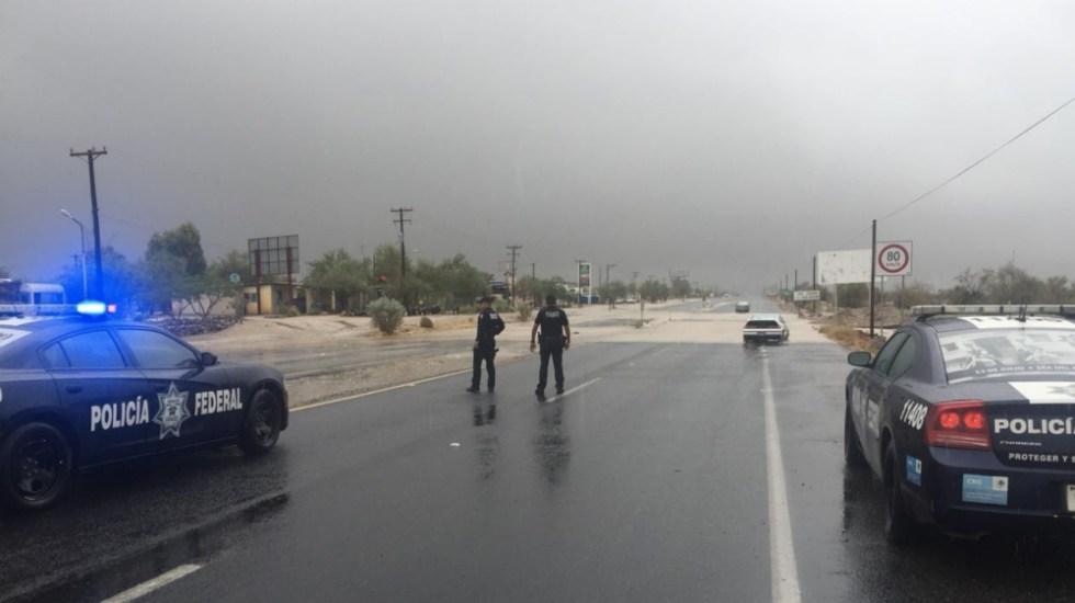 Declara Segob emergencia para dos municipios de Baja California - Foto de @PcSegob