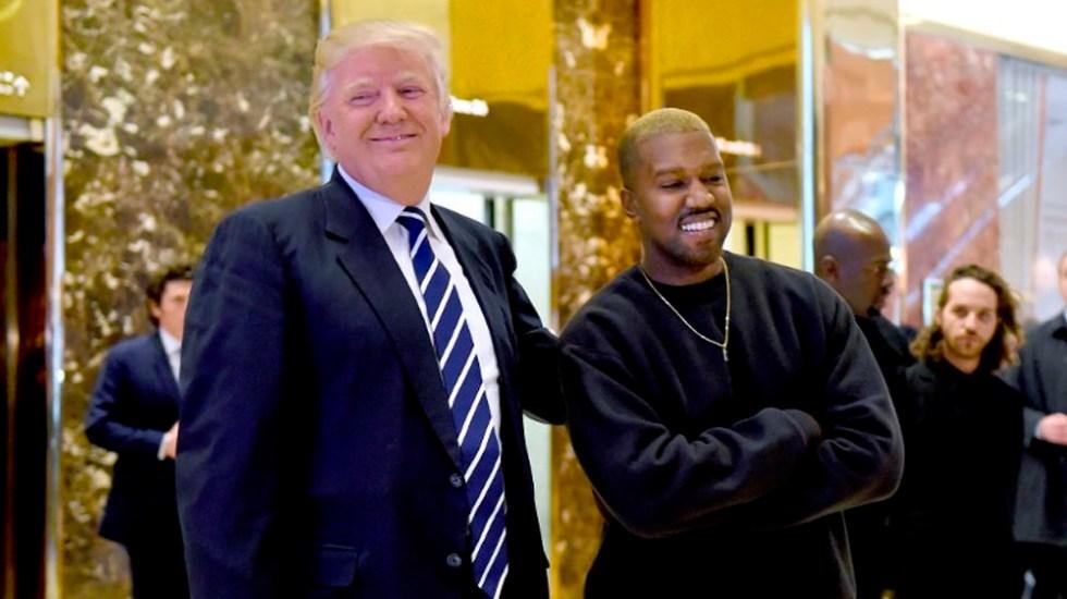 Trump y Kanye West se reunirán en la Casa Blanca - Foto de TIMOTHY A. CLARY / AFP