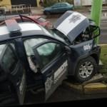 Patrulla ocasiona accidente en Hidalgo; hay dos lesionados - Foto de @pachukitoal100