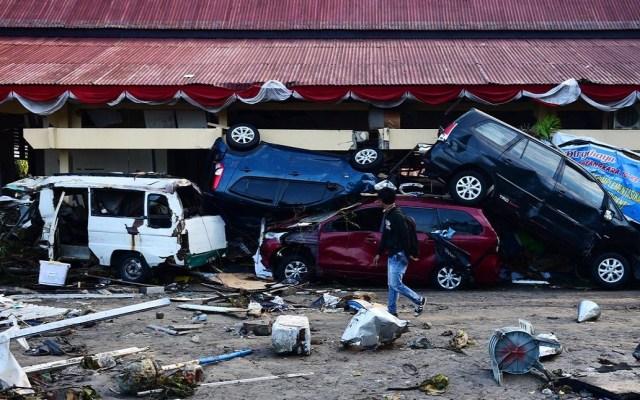 Unicef urge a México donar por tragedia en Indonesia - Daños en Indonesia tras terremoto y tsunami. Foto de @UNICEFMexico