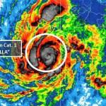 """""""Willa"""" ya es huracán categoría 1 con posibilidad de aumentar a 4 - Huracán Willa al suroeste de Colima y Jalisco. Foto de Conagua"""