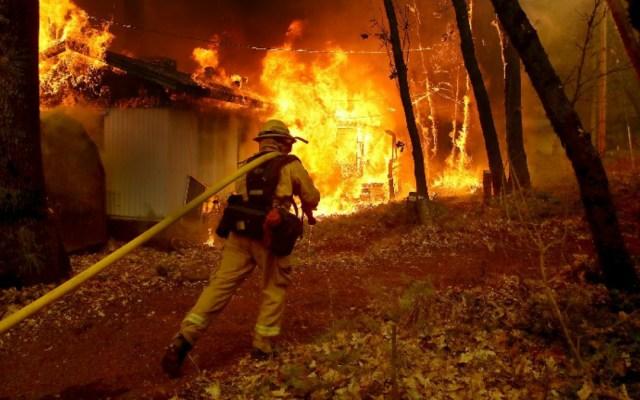 Aumenta a 80 cifra de muertos por incendios en California - Foto de Internet