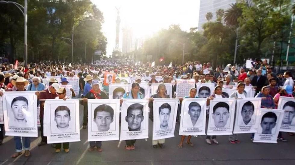 Gobernación informará avances en caso Ayotzinapa: López Obrador - Normalistas