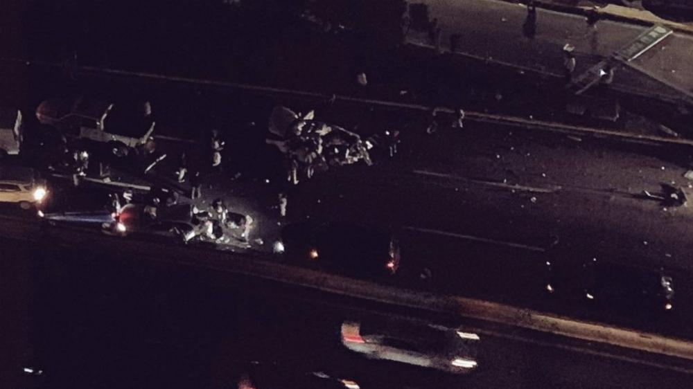 Accidente en la México-Toluca, a la altura de Santa Fe, deja al menos 40 lesionados. Noticias en tiempo real