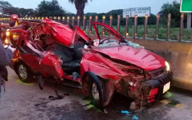 Muere sacerdote de Orizaba tras accidente en autopista México-Veracruz - Foto de Quadratín