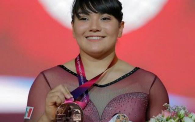 Alexa Moreno logra primera medalla de México en Mundial de Gimnasia - Alexa Moreno bronce mundial de gimnasia