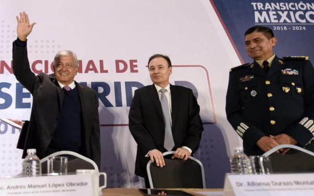 Plan de Seguridad no implica acercamiento con delincuentes: Durazo - Foto de lopezobrador.org.mx
