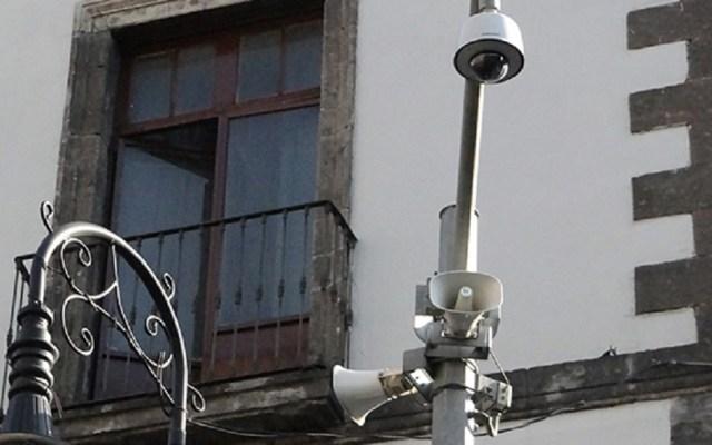 """Sonará alerta sísmica por """"macrosimulacro"""" el jueves - Generalmente se hace una prueba de audio al mes en los altavoces de la Ciudad de México. Foto de C5 CDMX"""