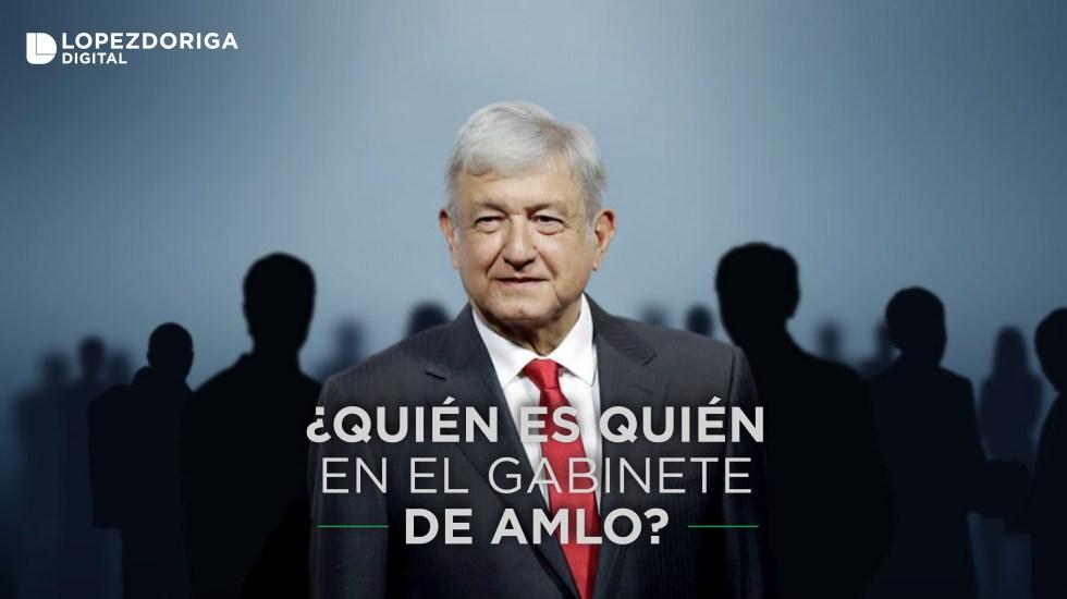 El gabinete de Andrés Manuel López Obrador