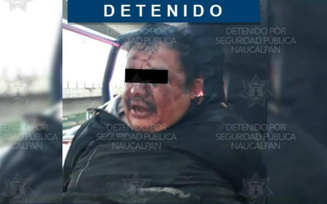 Pasajeros someten y golpean a presunto asaltante en el Edomex - Foto de Seguridad y Tránsito Naucalpan