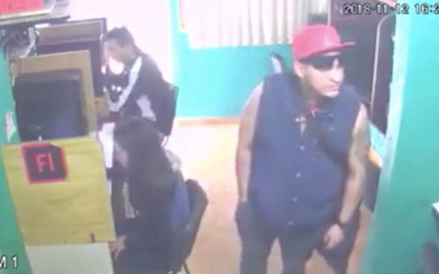 #Video Asaltan café internet en Cuautitlán Izcalli - Captura de Pantalla