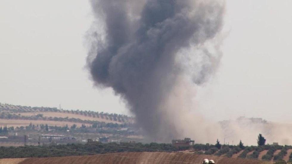 Ataque sirio en zona desmilitarizada de Idlib deja 22 muertos - El ataque sirio dejó 22 rebeldes muertos. Foto de Picture Alliance