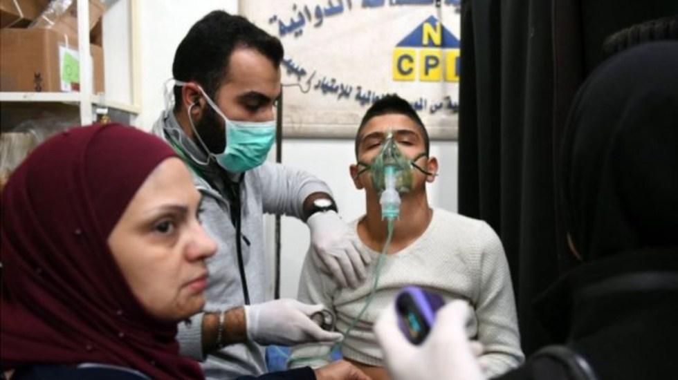 Rusia bombardea siria tras ataque con gas tóxico - Foto de AFP