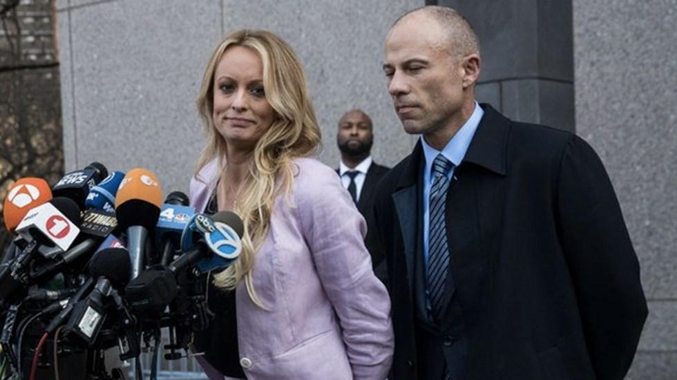 Detienen a abogado de Stormy Daniels en Los Ángeles - Foto de The Hill