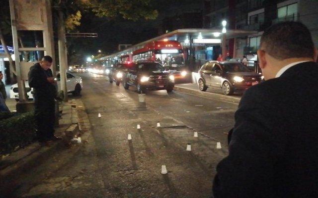 Atacan a policía en la Del Valle