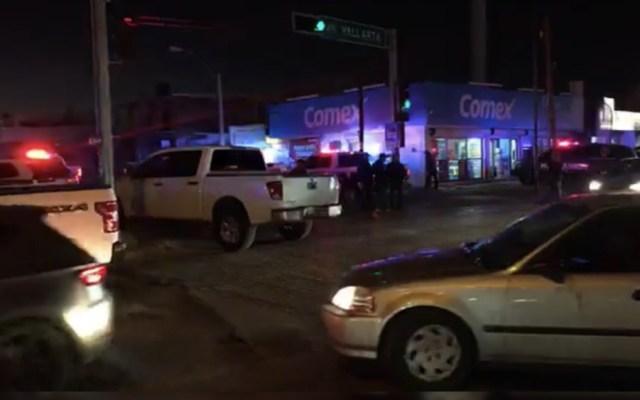 #Video Agreden a balazos a policías en Chihuahua - Foto de @ChihuahuaNot