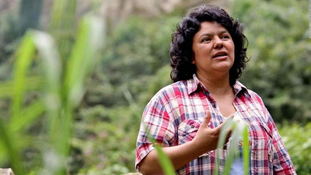 Declaran culpables a siete por asesinato de ambientalista hondureña - Foto de internet