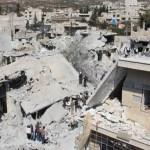 Bombardeos de coalición anti Estado Islámico dejan 43 muertos en Siria - Foto de @AlahednewsFr