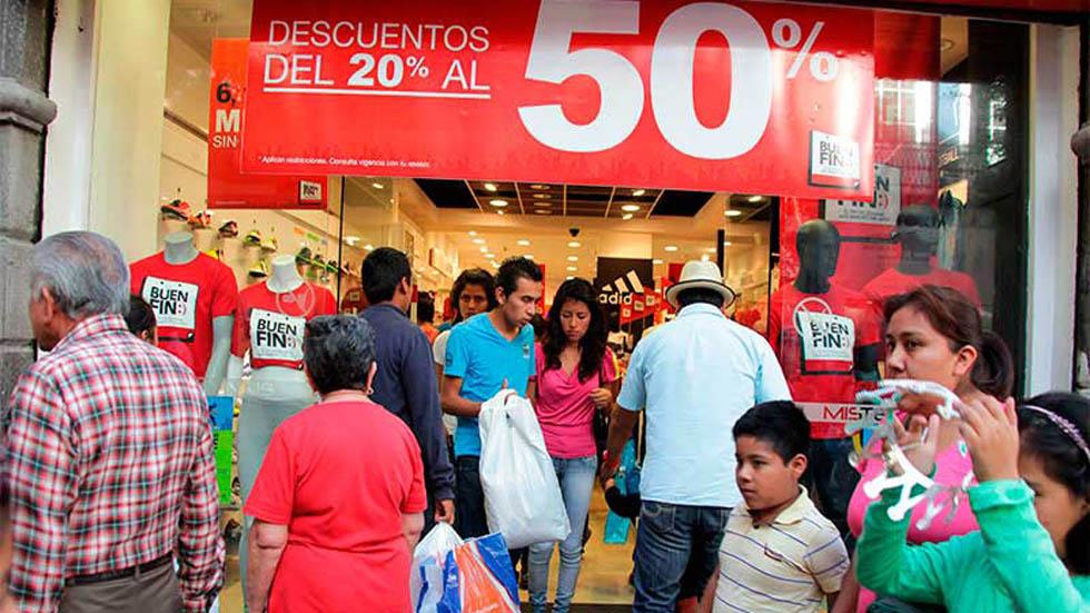 Abarrotan tiendas en último día del Buen Fin - Buen Fin 2018 Foto de @CronicaCampOfic