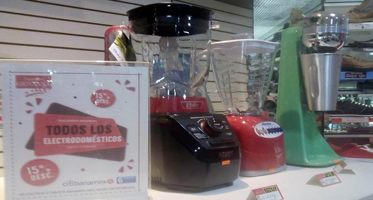 Electrodomésticos son de los productos más vendidos en el Buen Fin Foto de Miguel Ange