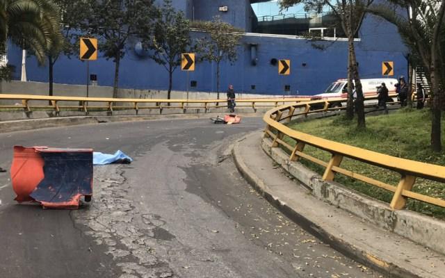 Atropellan y matan a ciclista repartidor en la Ciudad de México - Atropellan y matan a ciclista repartidor en la Ciudad de México