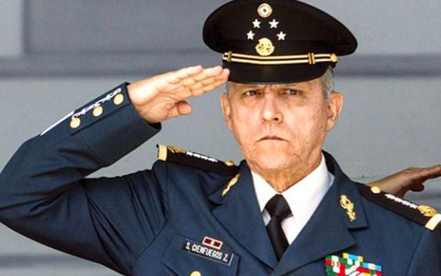 """""""Gracias a todos y hasta la vista"""": Cienfuegos se despide de soldados - Foto de Plano Informativo"""
