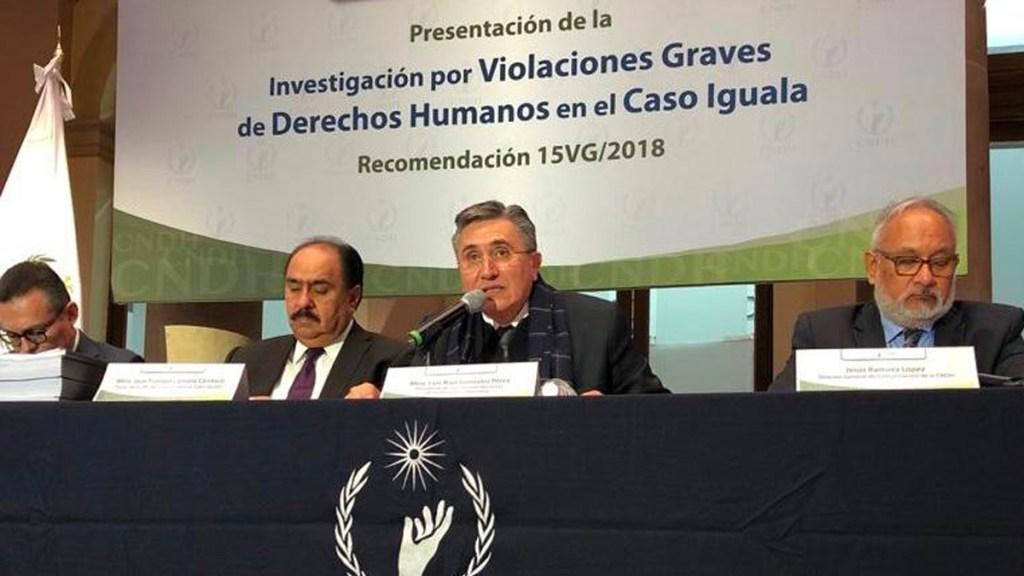Al menos 70 fueron torturados por caso Iguala: CNDH - Foto de CNDH