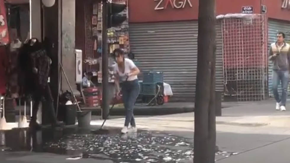 Comerciantes capitalinos viven sin contratiempos corte de agua. Noticias en tiempo real