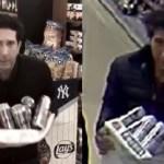 """Cae """"doble"""" de actor de Friends que robó cervezas - David Schwimmer copió el momento en que su doble es captado robando cervezas. Foto de Internet"""