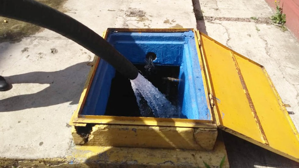 Superado el corte de agua en la capital: Amieva - Foto de Foro Tv