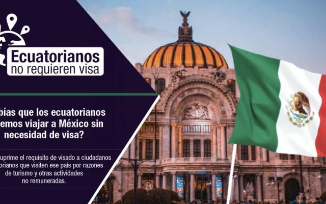 Ecuatorianos no necesitarán Visa para entrar a México - Foto de Twitter Cancillería Ecuador