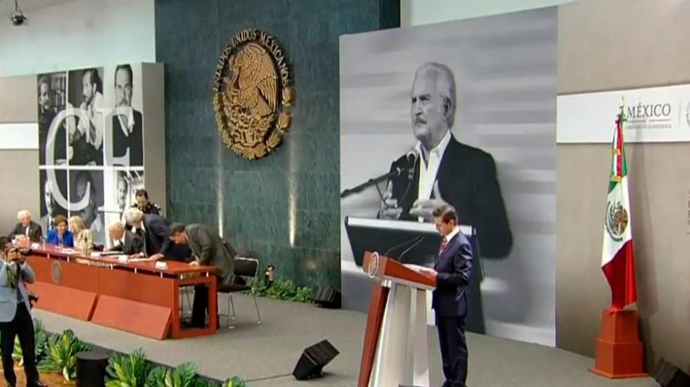 Libertad de expresión y crítica son pilares de la democracia: EPN - Foto de @PresidenciaMX