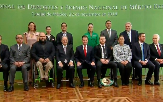 EPN entrega Premio Nacional de Deportes 2018 - Foto de @PresidenciaMX