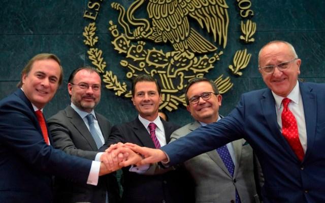 EPN destaca renegociación de tratado comercial - Foto de @PresidenciaMX