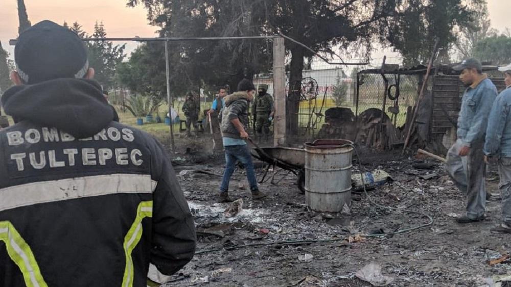 #Video Doble explosión de polvorín en Tultepec. Noticias en tiempo real