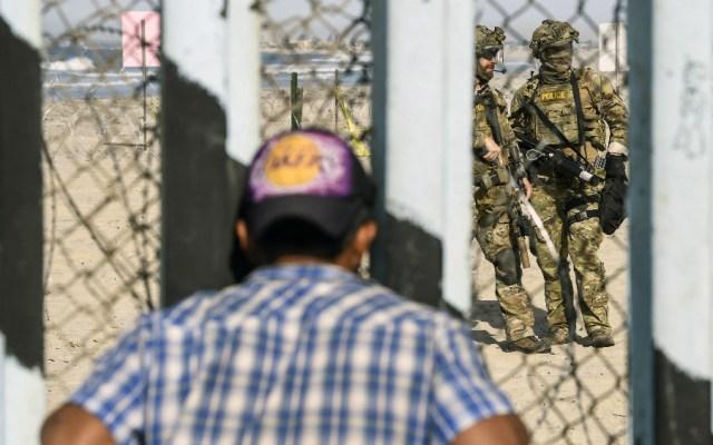 Advierte EE.UU. que caravanas deberán esperar en México para pedir asilo - Foto de AFP
