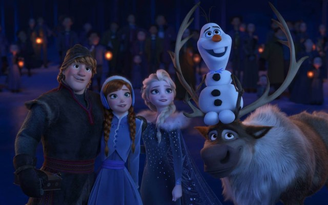 Disney confirma fecha de estreno de Frozen 2 - Corto de Frozen para Navidad. Foto de @DisneyFrozenLA