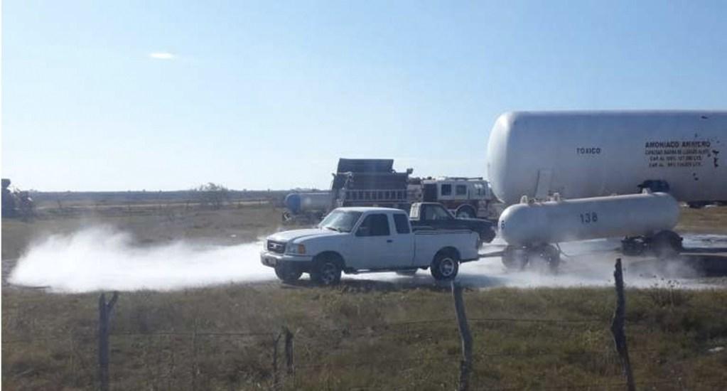 #Video Fuga de amoniaco en Sinaloa provoca evacuación - Foto de Río Doce